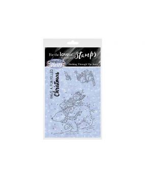 For the Love of Stamps A7 Stamp Set - Dashing Through the Snow