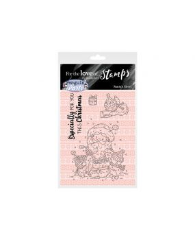 For the Love of Stamps A7 Stamp Set - Santa's Here