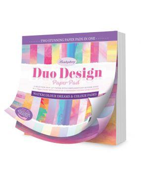 Duo Design Paper Pad - Watercolour Dreams & Colour Fades