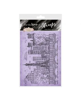 For the Love of Stamps - From Paris with Love