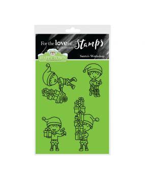 Happy Town Stamp Set - Santa's Workshop