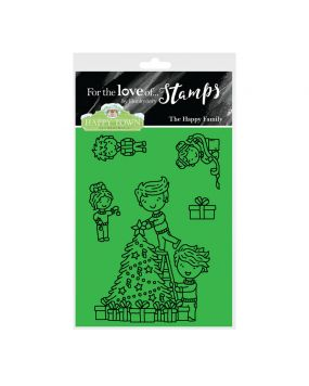 Happy Town Stamp Set - The Happy Family