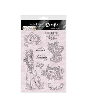 For the Love of Stamps - Graceful In Lace