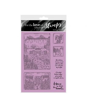 For the Love of Stamps - Cottage Garden A6 Stamp Set