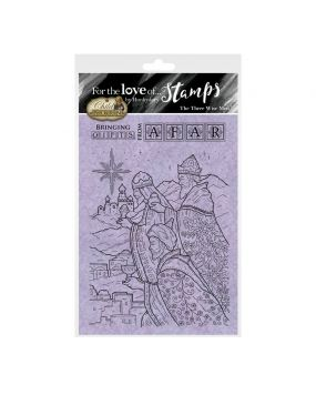 For the Love of Stamps - The Three Wise Men A6 Stamp Set