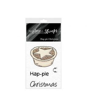 For the Love of Stamps - Hap-pie Christmas
