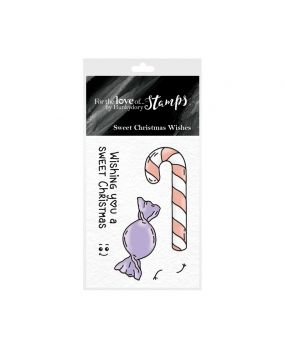 For the Love of Stamps - Sweet Christmas Wishes