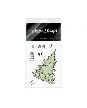 For the Love of Stamps - You're Tree-Mendous