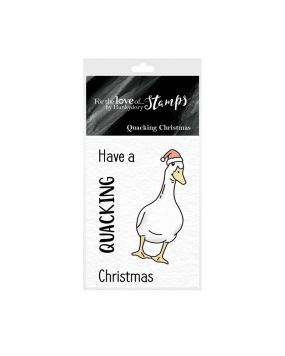 For the Love of Stamps - Quacking Christmas
