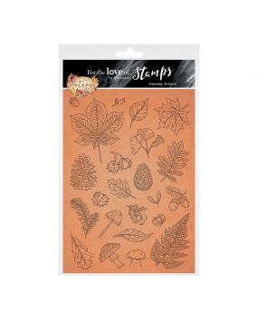 For the Love of Stamps - Amazing Autumn A5 Stamp Set