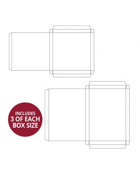Handmade Card Boxes - Deep Square & Rectangle Collection