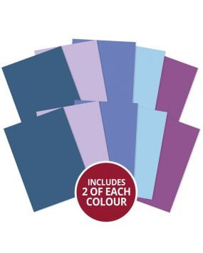 Matt-tastic Adorable Scorable A4 Cardstock x 10 sheets - Blues