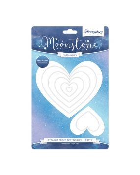 Moonstone Nesting Dies - Hearts