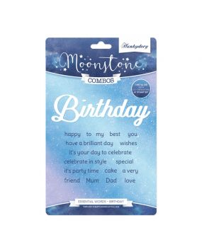 Moonstone Combos - Essential Words - Birthday