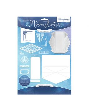 Moonstone Cutting Dies - Deco Dreams Card