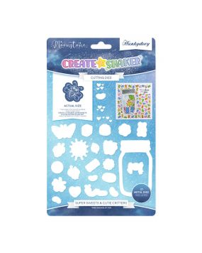 Moonstone Cutting Dies - Create-A-Shaker - Super Sweets & Cute Critters