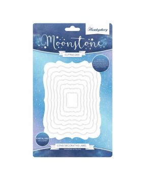 Moonstone Nesting Dies - Long Decorative Label