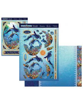 Perfect Planet Designer Deco-Large - Deep Blue Sea