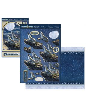 Perfect Planet Designer Deco-Large - Midnight Wolves