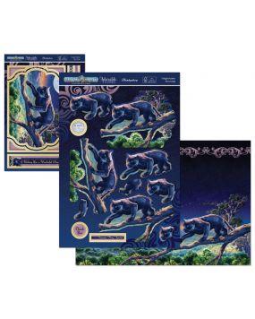 Perfect Planet Designer Deco-Large - Twilight Panther
