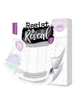 """Resist & Reveal 8"""" x 8"""" Clear Foiled Pad Volume 2"""