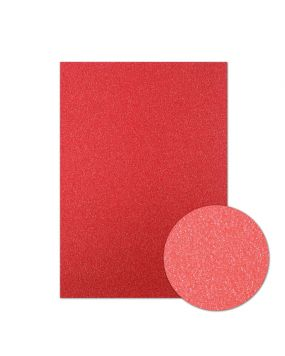 Diamond Sparkles Shimmer Card - Ruby Red