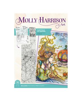 Molly Harrison Photopolymer Stamp - Fairytale of Dreams