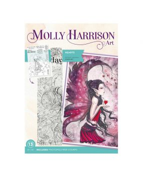 Molly Harrison Photopolymer Stamp - Hearts