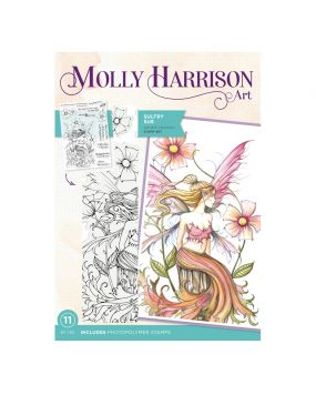Molly Harrison Photopolymer Stamp - Sultry Sue