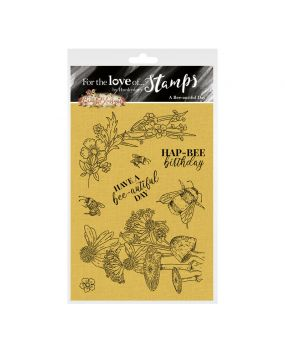 For the Love of Stamps - A Bee-aufitul Day