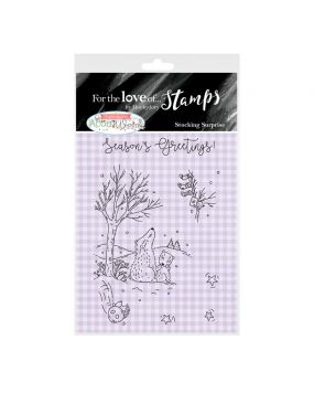 For the Love of Stamps A7 Stamp Set - Stocking Surprise