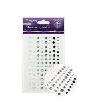 Diamond Sparkles Gemstones - Precious Pearls - Magical Monochromes