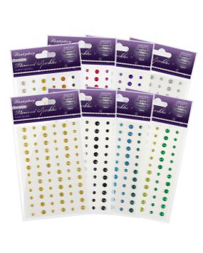 Diamond Sparkles - Glitter Gemstones Bundle