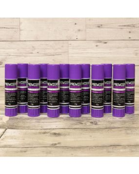 Premier Craft Tools - 12 x Glue Stick Multibuy