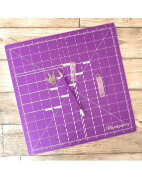 "Premier Craft Tools - 12"" x 12"" Mat & Knife Bundle"