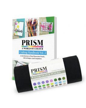 Prism Watercolour Pencils & Handbook Bundle