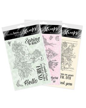 For the Love of Stamps - Springtime Wishes Multibuy