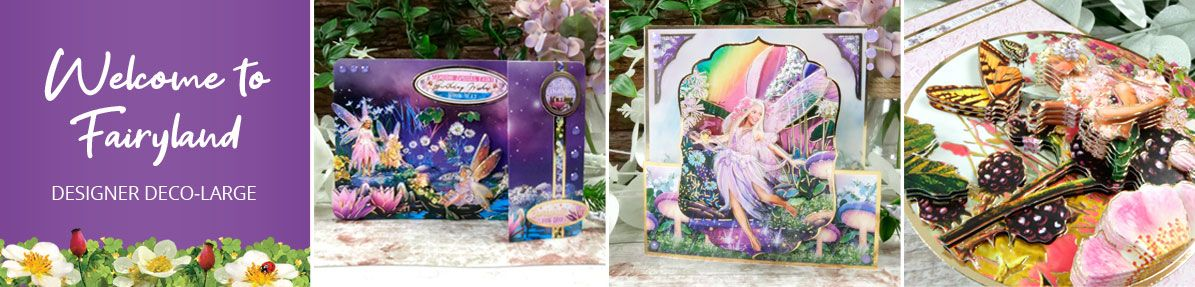 Welcome to Fairyland Deco-Large