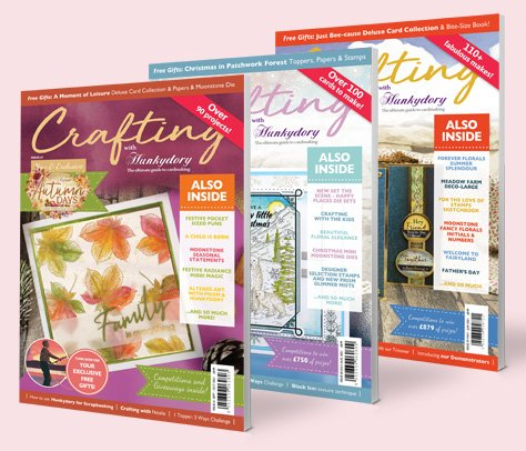 Crafting with Hunkydory Magazines