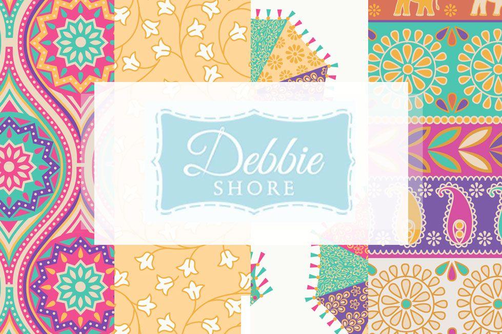 Debbie Shore Fabrics