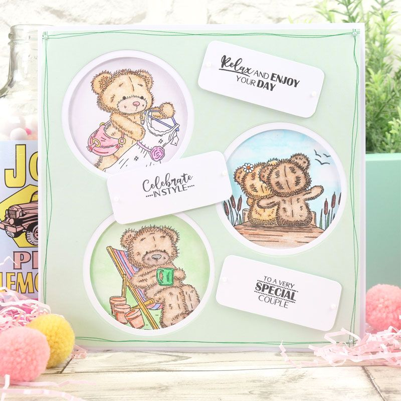 Teddy Loves... Stamp Sets
