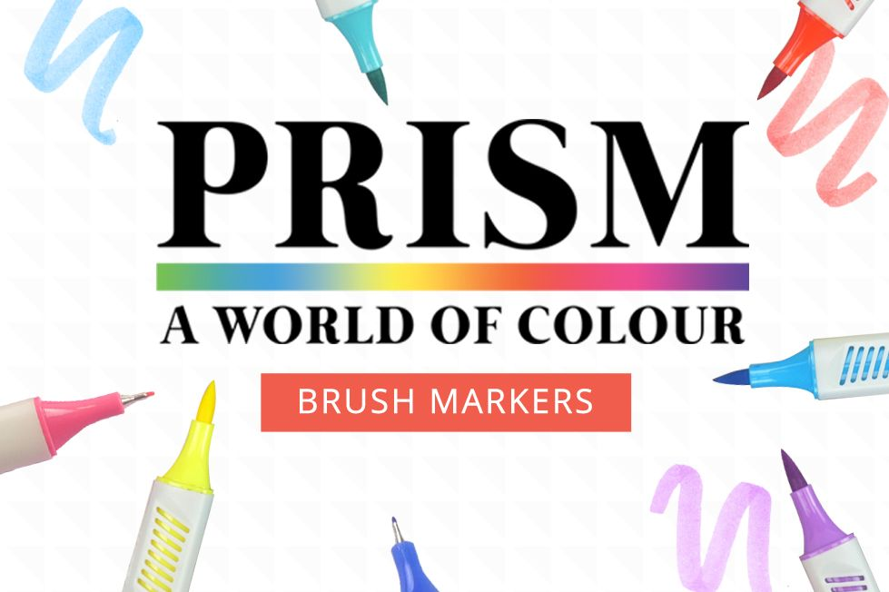 Prism Brush Markers