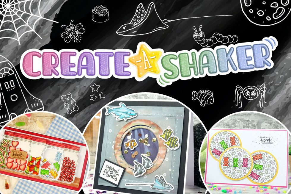 Create-A-Shaker For the Love of Stamps