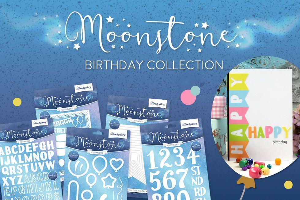 Moonstone Birthday Dies