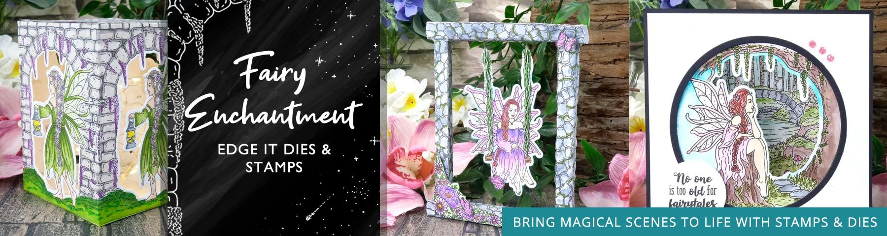 Fairy Enchantment Stamps and Dies