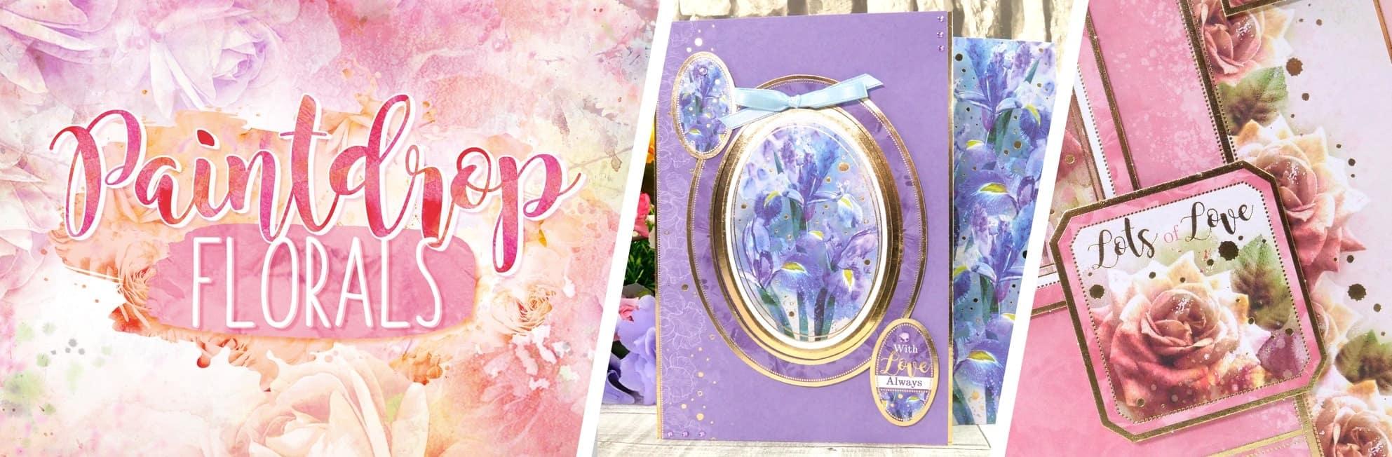 Paintdrop Florals Collection