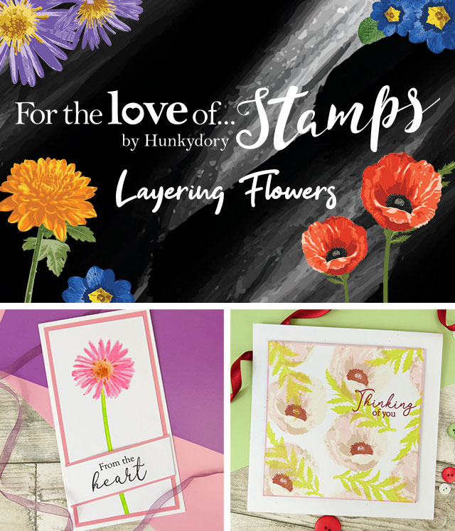 NEW LAYERING FLOWERS STAMPS