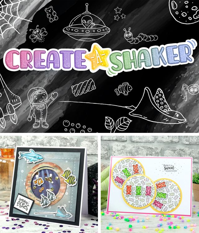 Create a Shaker Stamps & Dies