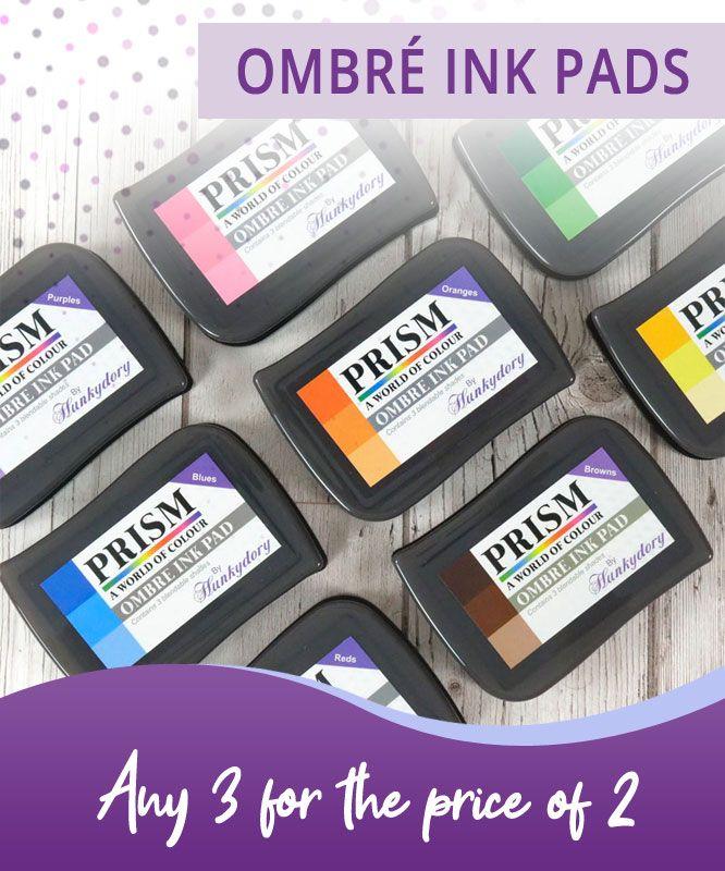 FREE Volume 3 /& 4 Crafting Handbook Hunkydory Prism Bundle Offer 36 Ink Pads