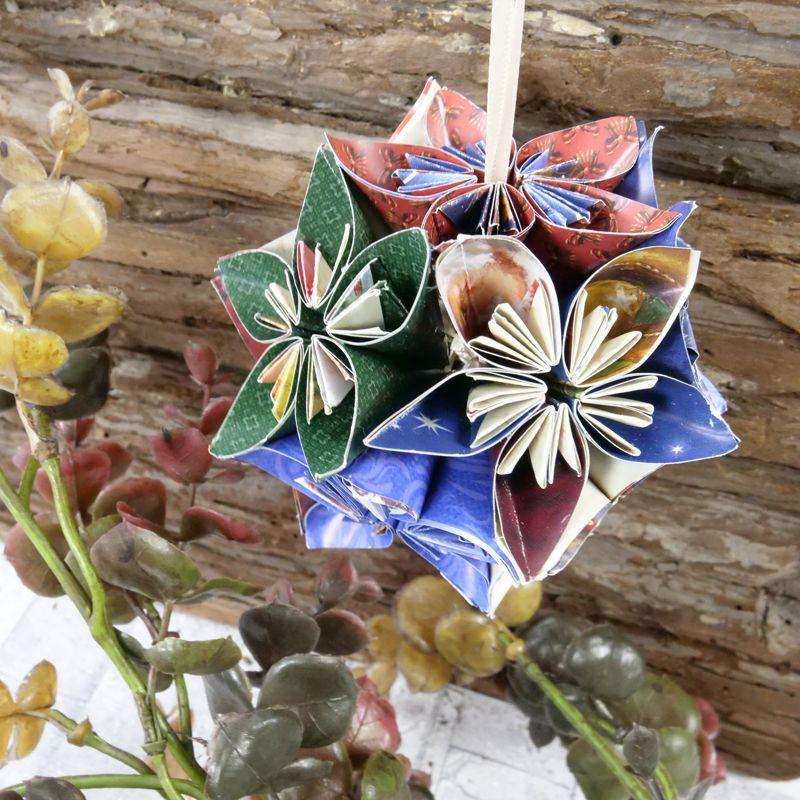 3d origami Kusudama Glorioza | Etsy | 800x800
